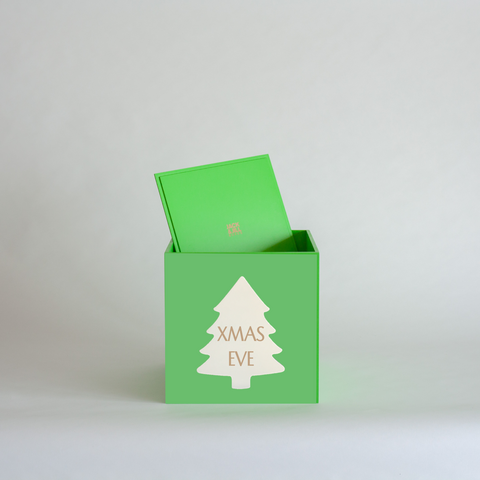 Green Christmas Box