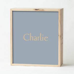 Light Grey Keepsake Box