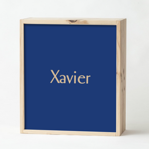 Navy Keepsake Box