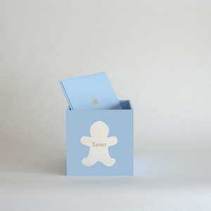 Pale Blue Christmas Box