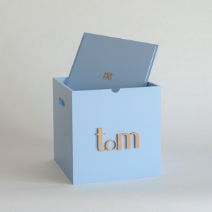 Light Blue Storage Box