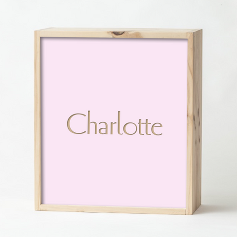 Pale Pink Keepsake Box