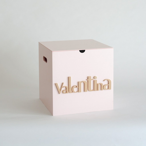 Pale Pink Storage Box