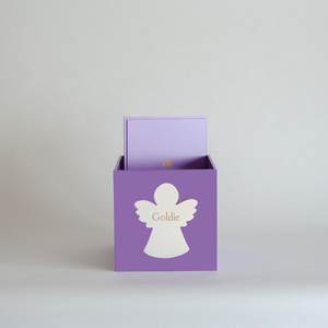 Purple Christmas Box