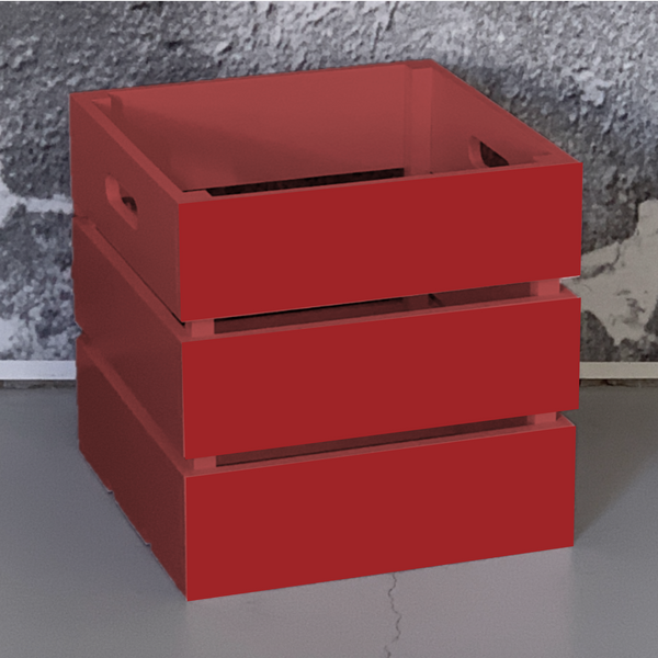 Red Crate Box