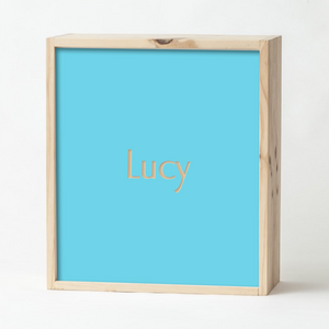 Teal Keepsake Box