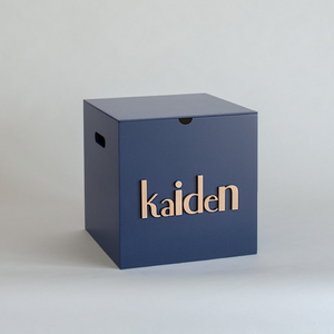Navy Storage Box