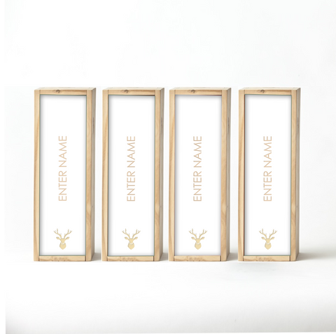 White Wine Boxes (set of 4)