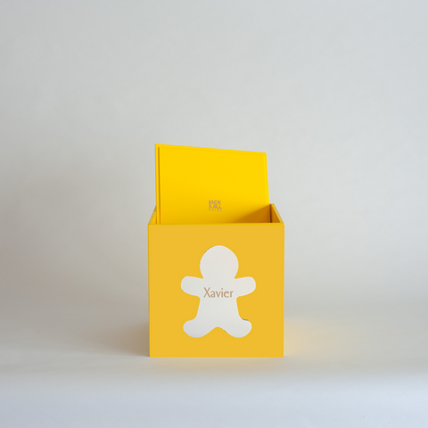 Yellow Christmas Box
