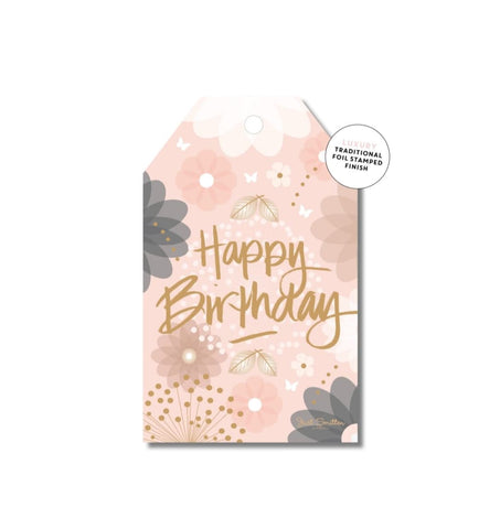 Gift Tag - Happy Birthday