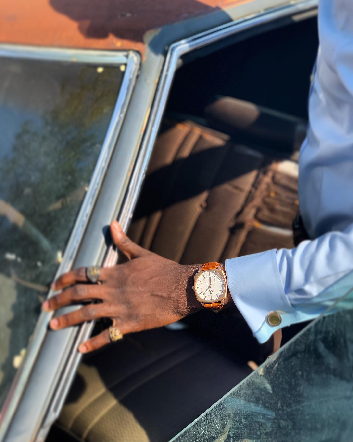 asorock-watches-of-nigeria-monolith-watch-rosegold-whitedial-africas first luxury watch brand
