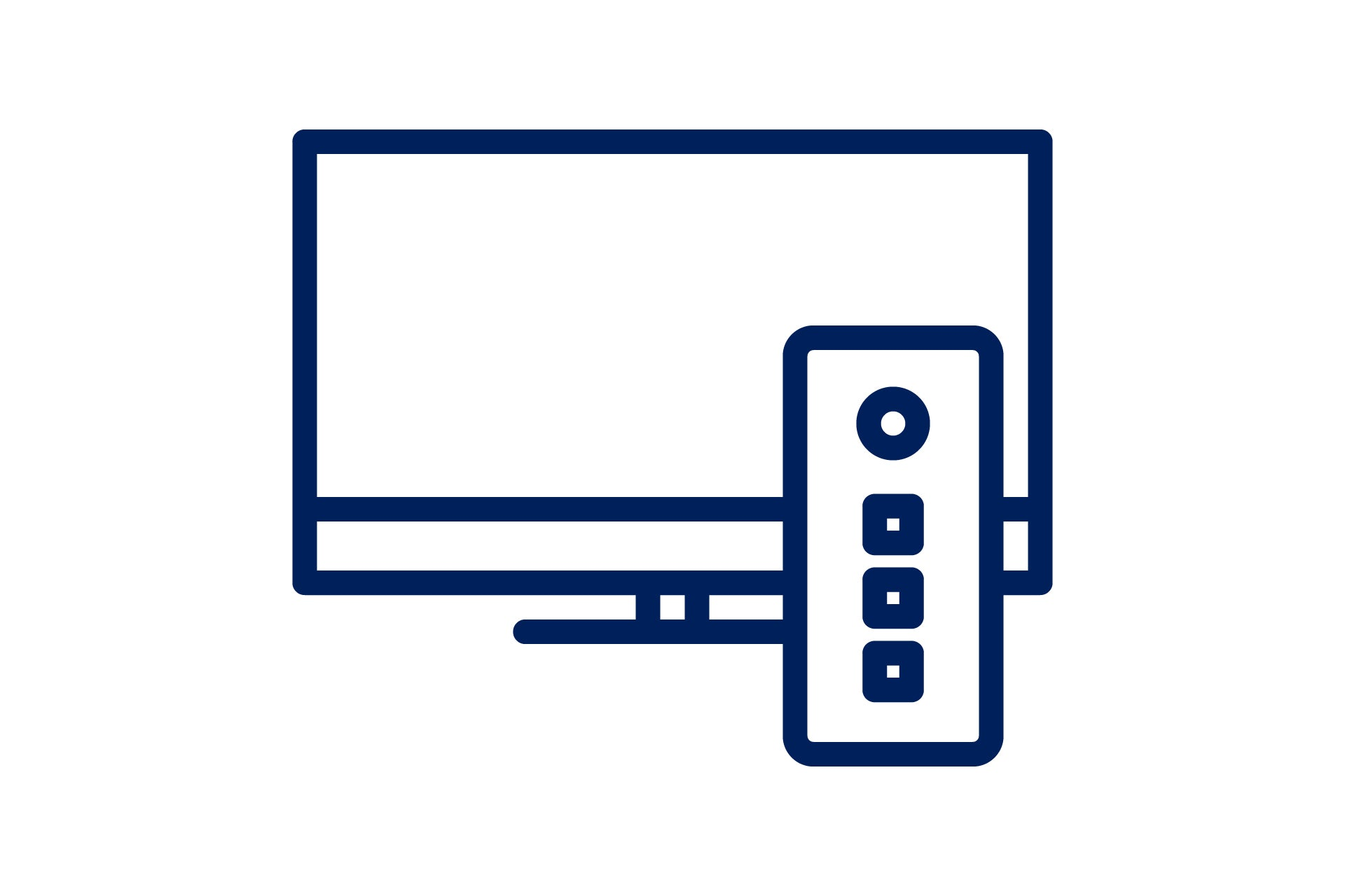 an icon of a tv screen