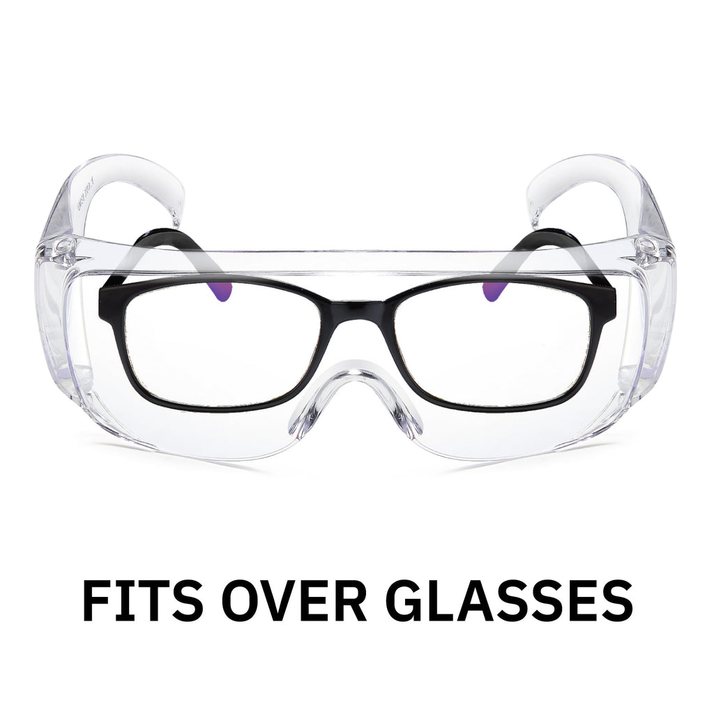 Protective Anti-Fog Safety Glasses