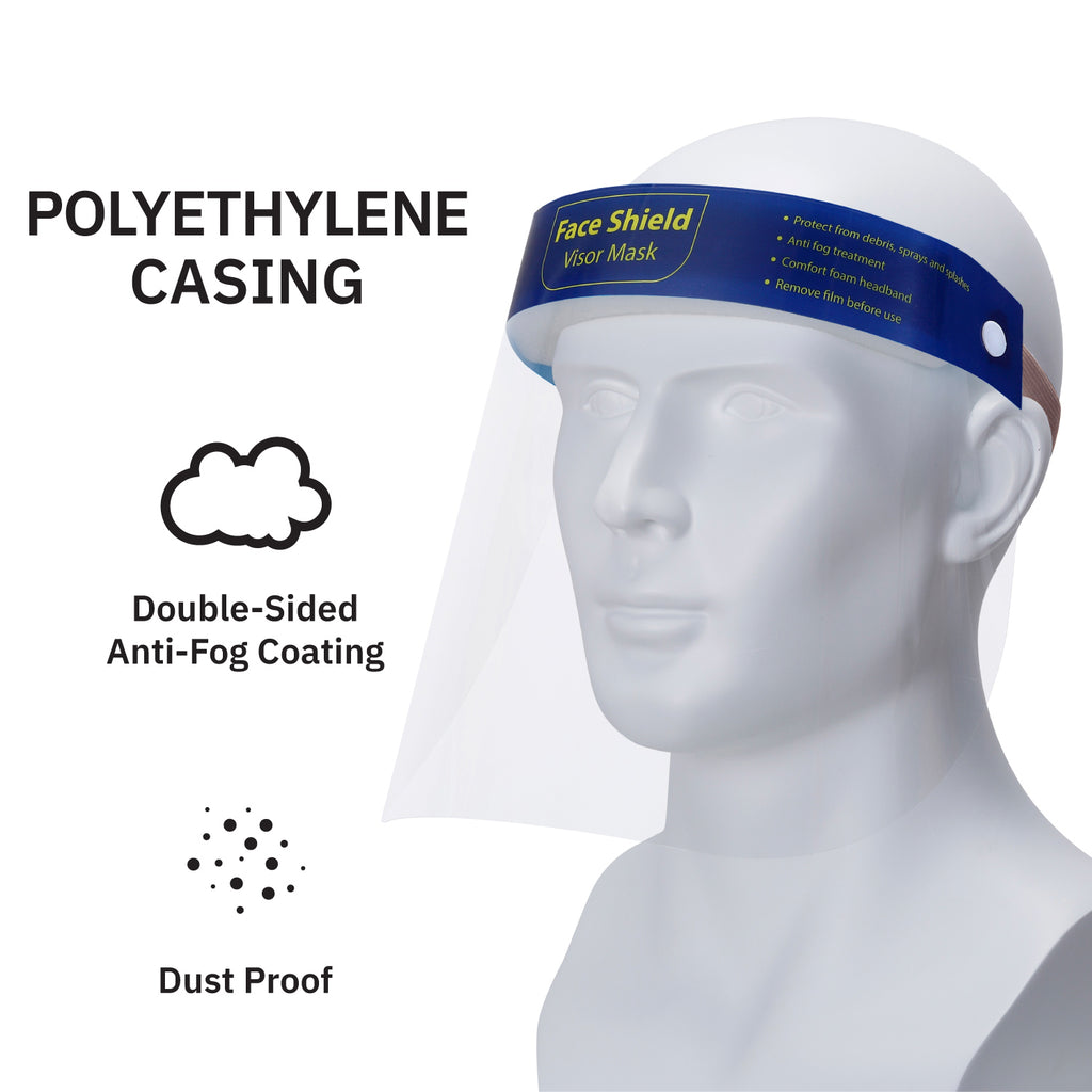 Gamma Ray Protective Face Shield Safety Visor