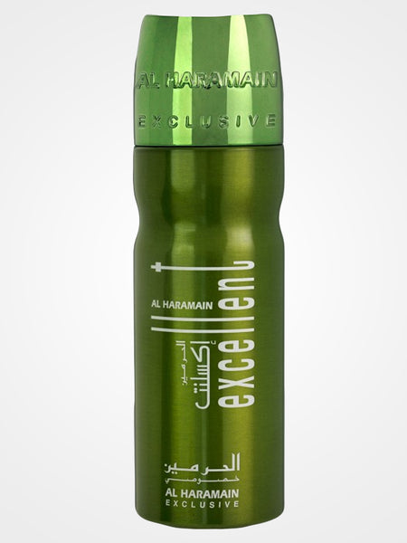 Excellent Green Body Spray - Al Haramain - 200ml - Islamic Impressions