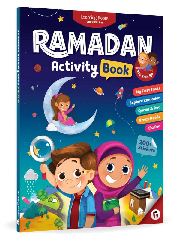 Ramadan Activity Book (Big Kids 8+) - Islamic Impressions