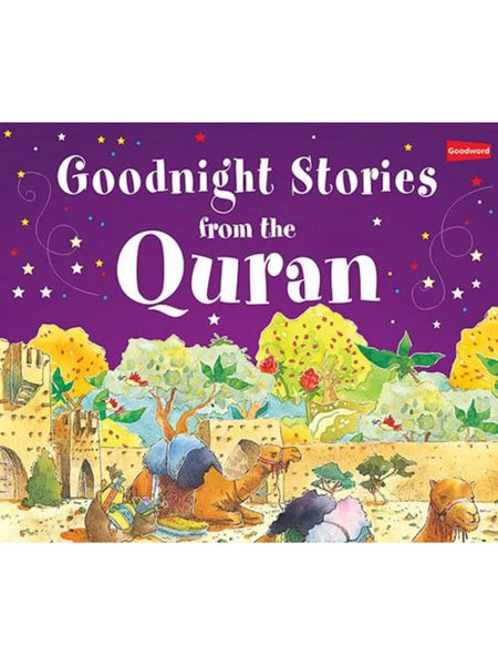 Goodnight Stories From The Quran (Hardcover) - Islamic Impressions