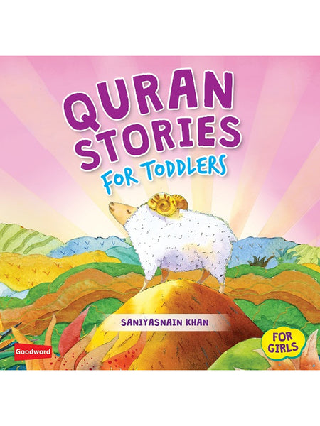 Quran Stories for Toddlers for Girls (Hardcover) - Islamic Impressions