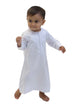Boys Omani Thobe - Long Sleeve with Zip