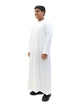 Islamic Impressions Boy's Silky Thobe With Zip - Full Sleeve