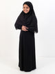 Girls Everyday Abaya - Stretchy Material
