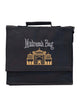 Children's Madrassah Bag - Black - Embroidered