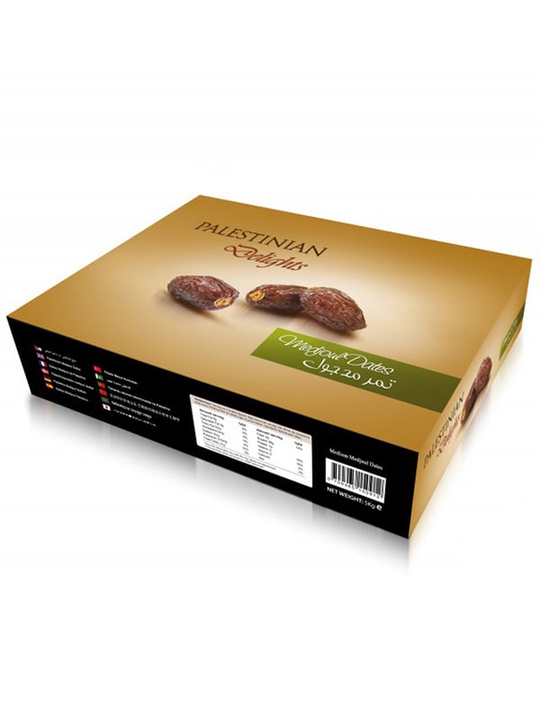 Yaffa Palestinian Medjoul Dates - Medium - 5Kg Box - Islamic Impressions