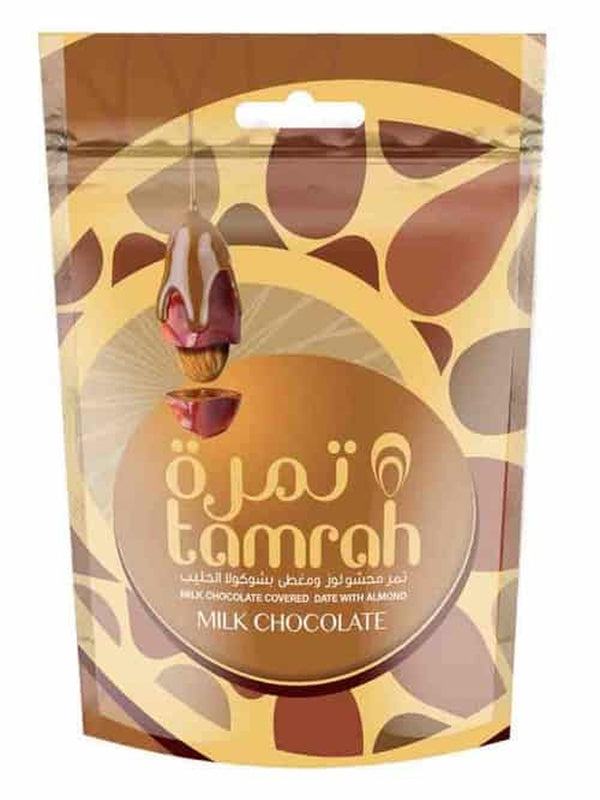 Tamrah Choco Dates Milk Chocolate 80g - Islamic Impressions