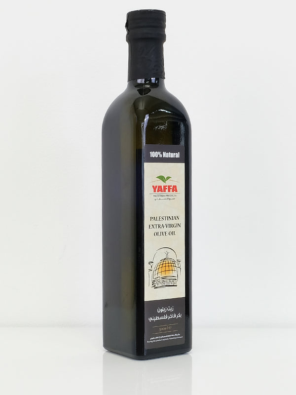 Yaffa Palestinian Cold Pressed Extra Virgin Olive Oil - 500ml - Islamic Impressions