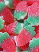 Giant Fizzy Strawberries Sweets - Heavenly Delights - 5p - 120 pieces Tub