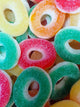 Fizzy Rings Sweets - Heavenly Delights - 5p - 120 pieces Tub