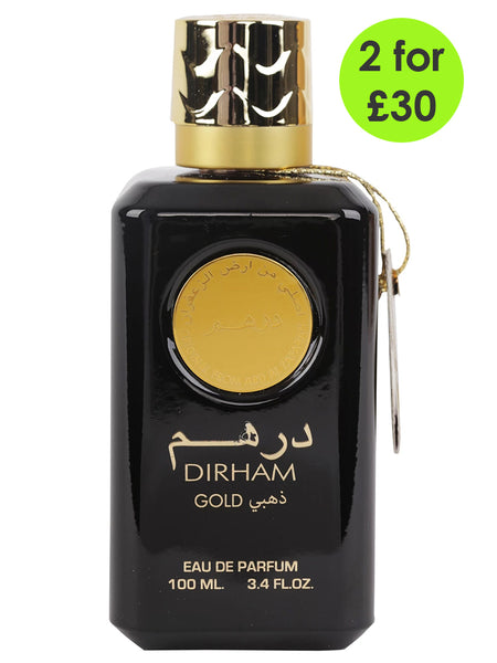 Dirham Gold By Ard Al Zaafaran - 100ml EDP Spray (Unisex) - Islamic Impressions
