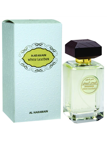 Haramain White Leather - Al Haramain - 100ml - Islamic Impressions