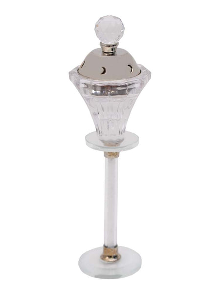 Bakhoor Burner - Cut Crystal Style with Stem - Islamic Impressions