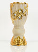 Bakhoor Burner - Ceramic - Gold Flowers