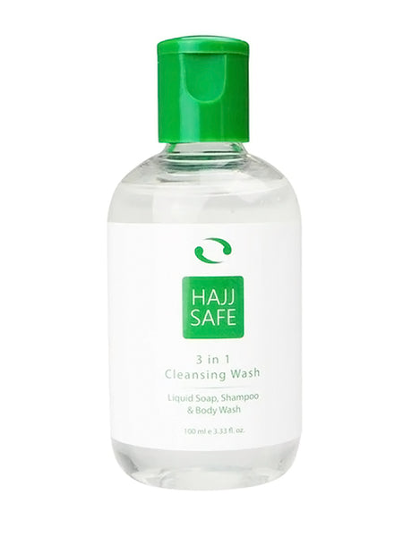 Hajj Safe Unscented 3 in 1 Liquid Soap - Islamic Impressions