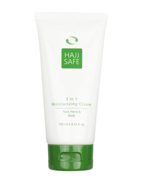 Hajj Safe Unscented 3 in 1 Moisturising Cream - Face, Hand & Body Lotion - Islamic Impressions