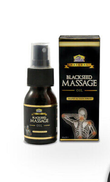 Black Seed Massage Oil Rapid Action Spray 30ml