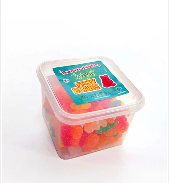 Vegan Fizzy Bears - Heavenly Delights - 150g