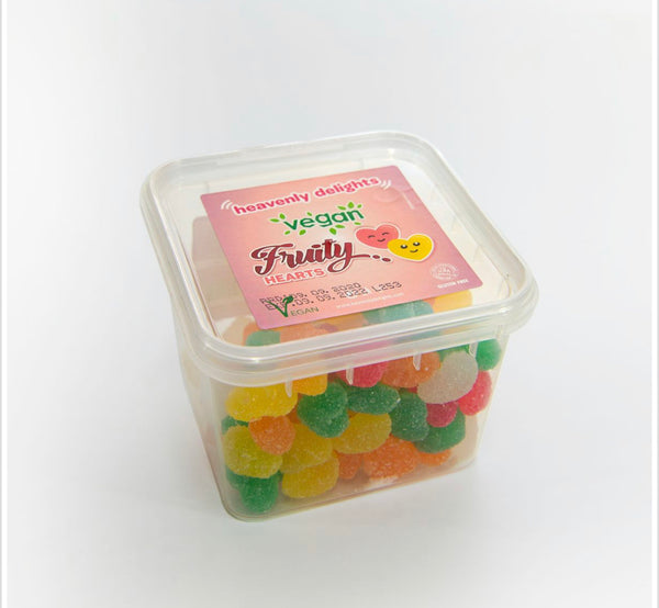 Vegan Fruity Hearts - Heavenly Delights - 150g