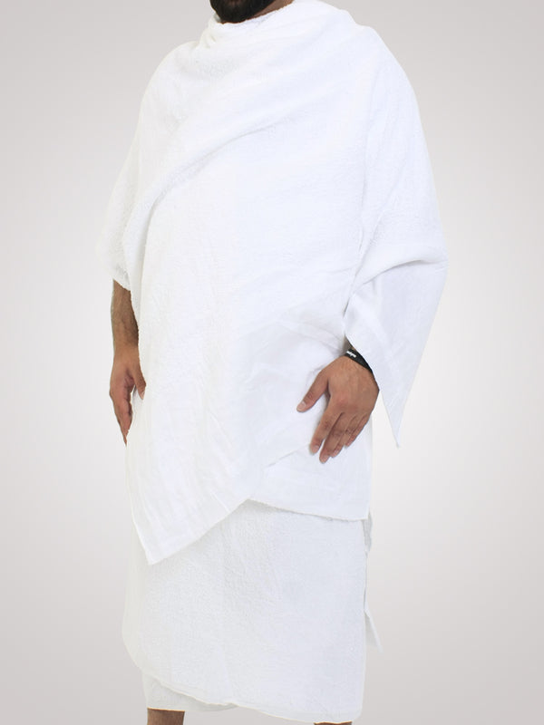 Islamic Impressions Cotton Towel 2 Piece Ihram for Men and Boys - Islamic Impressions