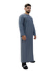 Islamic Impressions Mens Omani Thobe - Long Sleeve - V Design
