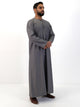 Islamic Impressions Omani Thobe With String - Long Sleeve