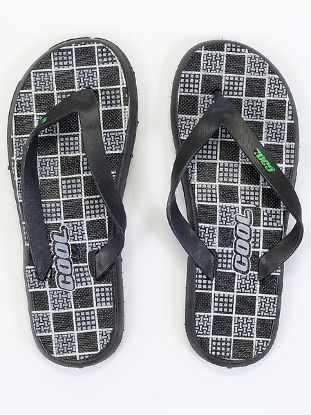 Mens Slippers - Checked Design - Islamic Impressions