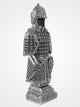 99 Names Of Allah Turkish Soldier Ornament - Silver