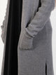 Womens Long Thick Cardigan - One Size