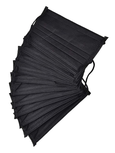 Disposable Mask - Pack of 10 - Black - Islamic Impressions