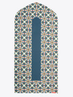 Prayer Mat - Visual Dhikr - Three Layer - Non Slip - Geometric arch-shaped