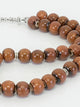 Brown Tasbeeh - 33 Beads
