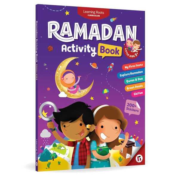 Ramadan Activity Book (Little Kids 5+) - Islamic Impressions